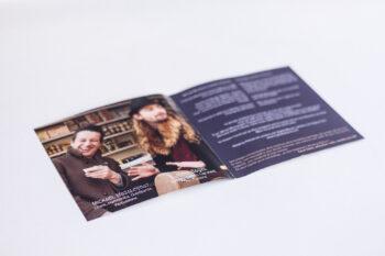 Intérieur du livret de l'album Epitaphe du Duo de blues Weeping Widows